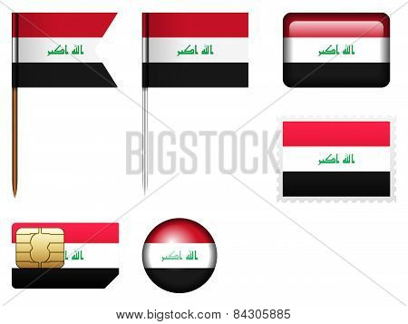 Iraq Flag Set