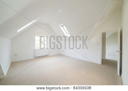 Empty Bedroom In Modern House