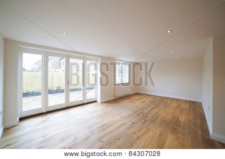 Interior Of Empty Lounge In New Home