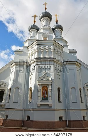 Cathedral Of The Vladimir Icon Of The Mother Of God. Kronstadt, Russia
