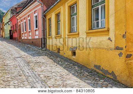 Colourful Sighisoara, Romania.
