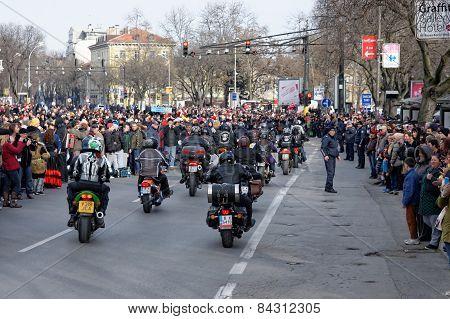 Noisy motorbikes