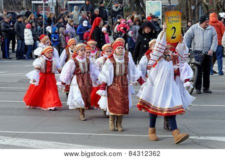 Orthodox christian holiday Shrovetide