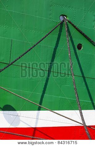 Colorful Ship Hull