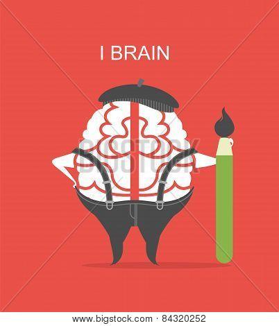 I Brain