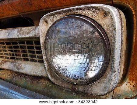 Vintage Truck Headlight