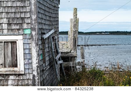 Fish Shed And Dock