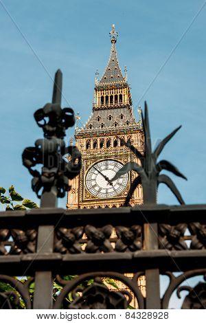 London, Big Ben Elizabeth Tower