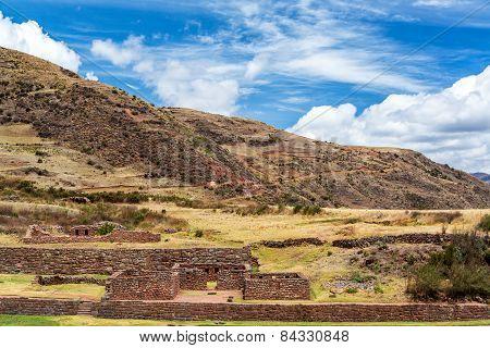 Ruins Of Tipon, Peru