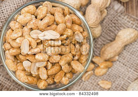 Roasted Spicy Peanuts