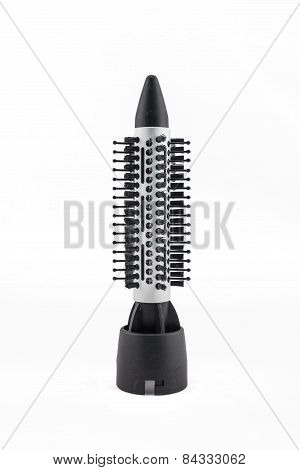 Comb Brush Accessories  For Hair Dryer  Isolated On White