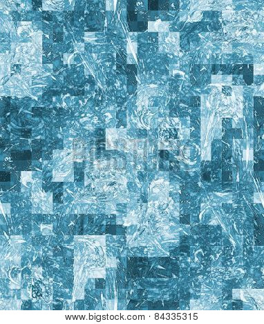 Art Abstract Background, Seamless Pixelated Pattern