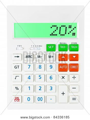 Calculator With 20