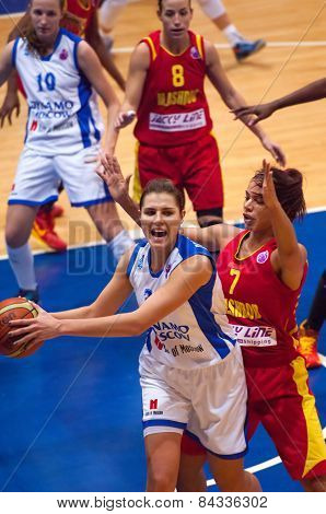Anna Petrakova (31) In Action