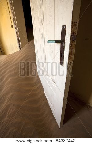 Sand in your door