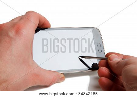 Smartphone stylus