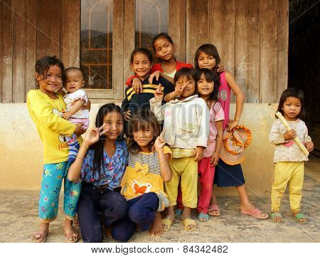 Asian Children, Poor Child, Pretty Girl