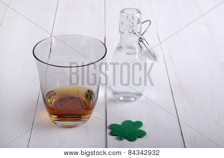 Irish Whiskey In A Glass