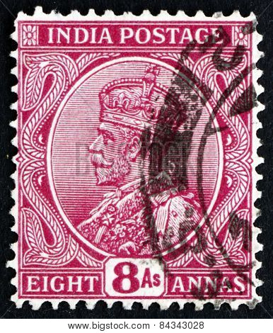 Postage Stamp India 1911 George V, Emperor Of India