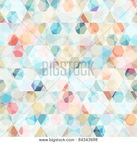 Cell Diamond Seamless Pattern