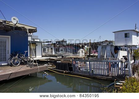 Sausalito Houseboats, San Francisco Bay Area