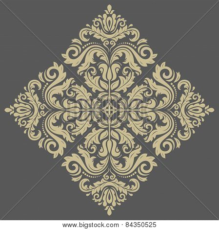 Orient Abstract Vector Pattern