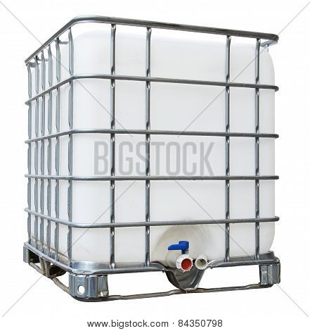 Water Tank With Iron Frame