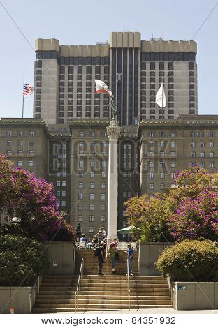 Union Square In Downtown San Francisco