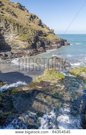 Stunning coast line between tintagel and boscastle