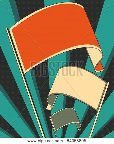 Revolution Flag Poster