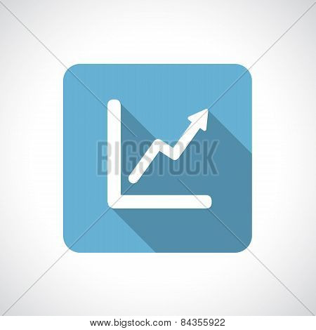 Graph, diagram icon.