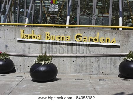 The Entrance Of Yerba Buena Gardens