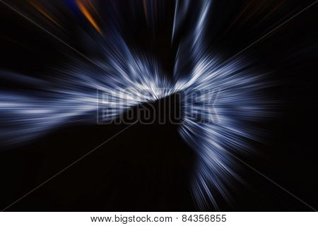 Dark Abstract Background With Raying.