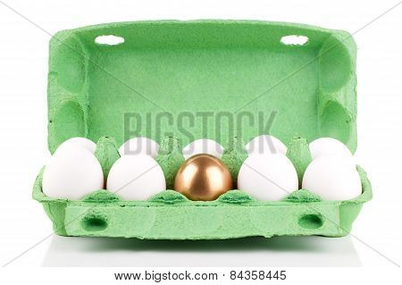 Golden Egg In The Package, Concept Of Making Money