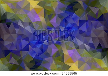 Abstract Background From Different Triangles.