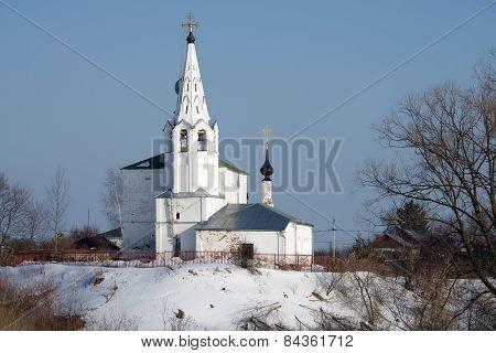 Cosmas And Damian Church On Mount Yarunovo In Suzdal