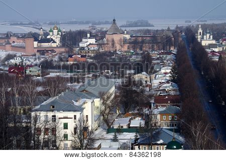 View Of The City Of Suzdal