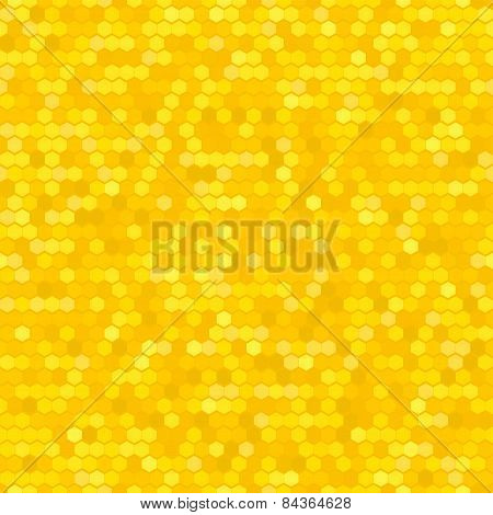 Abstract Seamless Vector Cell Pattern