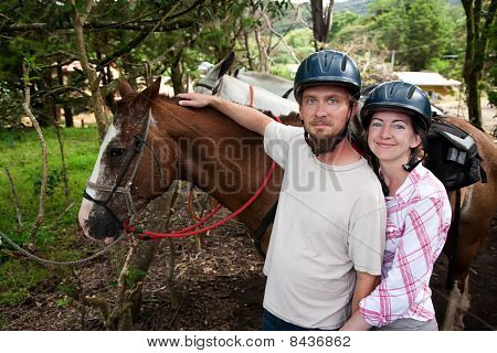 Equestrian Couple