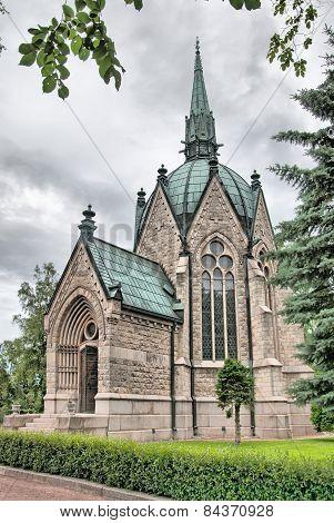 Pori. Finland. Juselius Mausoleum