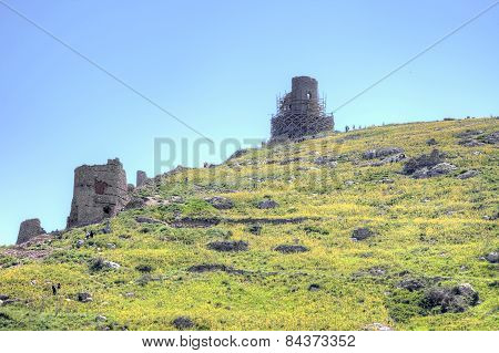 The Ruins Of The Genoese Fortress