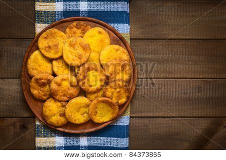 Chilean Snack Called Sopaipilla