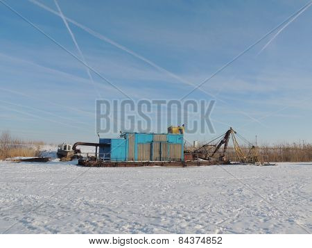 River Suction Dredge
