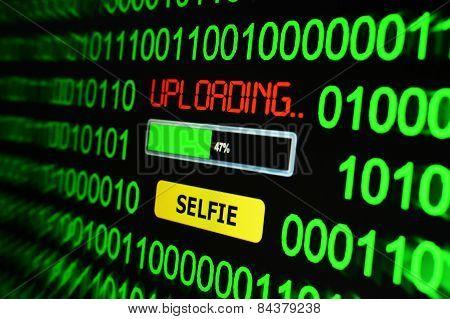 Uploading Selfie