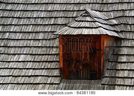 Shed On The Roof Shingles