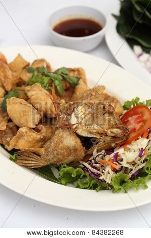 Fried Fish (complementing Fish)