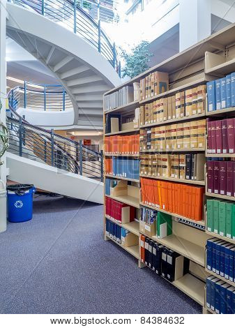 University of Calgary, Faculty of Law library