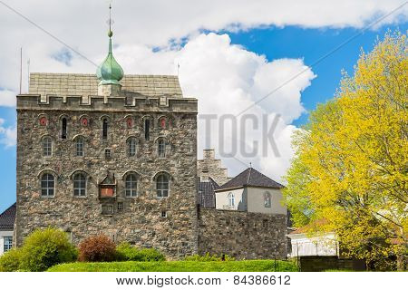 Rosenkrantztower In Bergen
