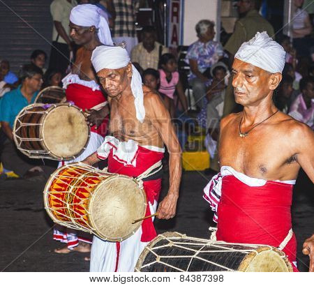 Musicians Participate The Festival Pera Hera In Kandy