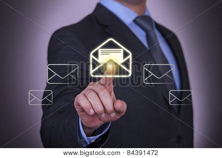 Touch Screen Email Business